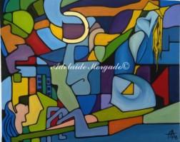 Confrontos, Óleo sobre tela, 1998